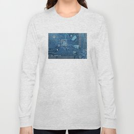 Electronic circuit board Long Sleeve T-shirt