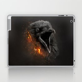 XTINCT x Raven Laptop & iPad Skin