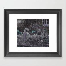 Living Green Framed Art Print