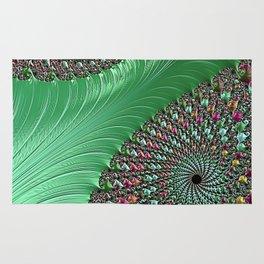 Carnival Green Rug