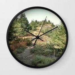 Cliff Trail Wall Clock