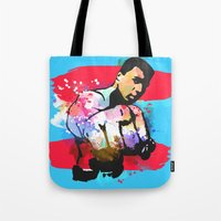 ali Tote Bags featuring Ali by BIG Colours