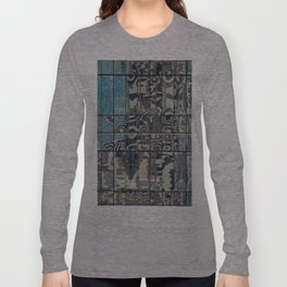 Reflections of Steel NYC 212-1 Long Sleeve T-shirt