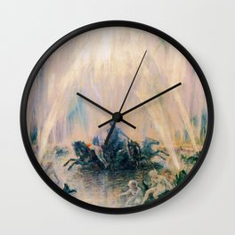 Fountain - Digital Remastered Edition Wall Clock