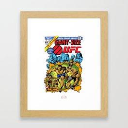 UFC 2015 Champions/Giant Size X-Men No.1 Framed Art Print
