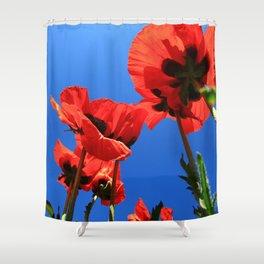 mohn 4 Shower Curtain