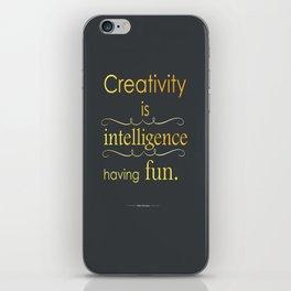 Creativity iPhone Skin