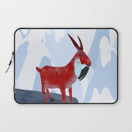 Mountain Goat Design Laptop Sleeve