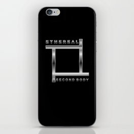 ETHEREAL SECOND BODY iPhone Skin
