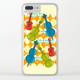 Sunny Grappelli String Jazz Trio Composition Clear iPhone Case