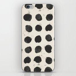 Two / Cream iPhone Skin