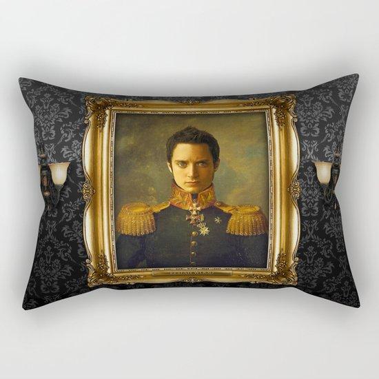 Elijah Wood - replaceface Rectangular Pillow