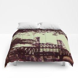 Steel Bridge Comforters