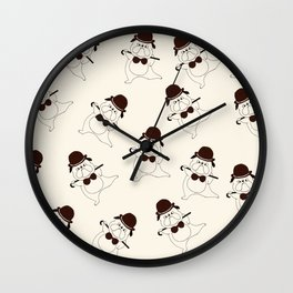 Father's Day Greeting Card Wall Clock