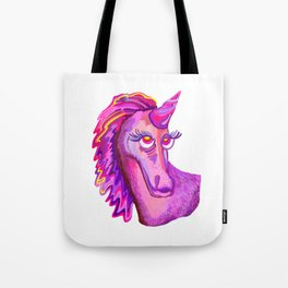 Self-Portrait of a Unicorn Tote Bag