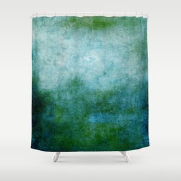Abstract Cave IV Shower Curtain