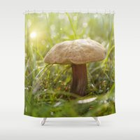 lawyer Shower Curtains featuring Sparkling lights  by UtArt