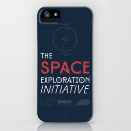 The Space Exploration Initiative iPhone Case