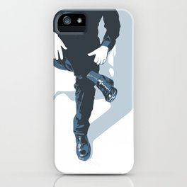 Man In Blue iPhone Case