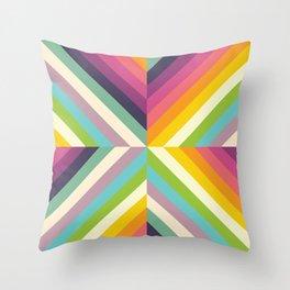Retro Celebration Throw Pillow