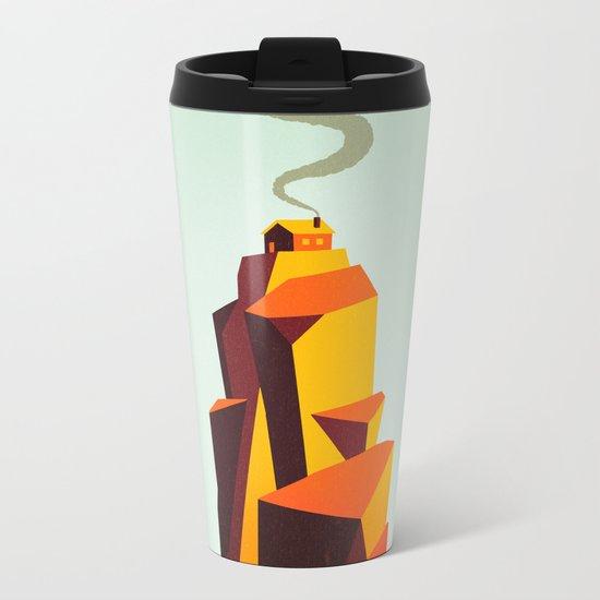 House Metal Travel Mug