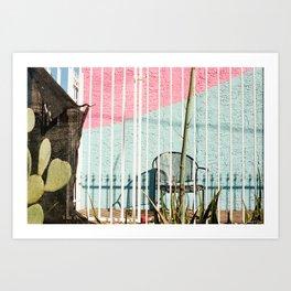 Cactus Chair Art Print