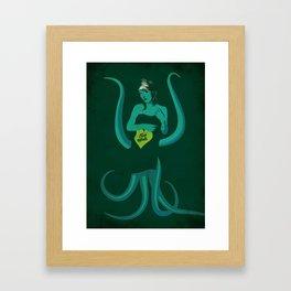 I love mutants Framed Art Print