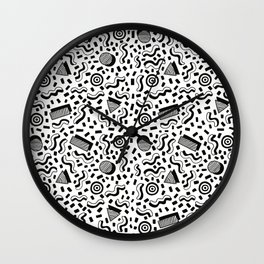 pity party Wall Clock
