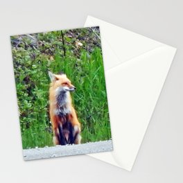 Foxy Stationery Cards