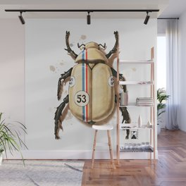 Herbie the Love Bug Wall Mural