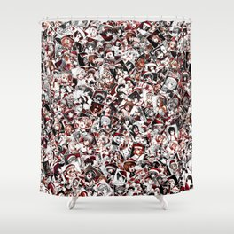 Christmas hentai Shower Curtain