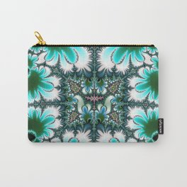 Fractal Rectangle Carry-All Pouch