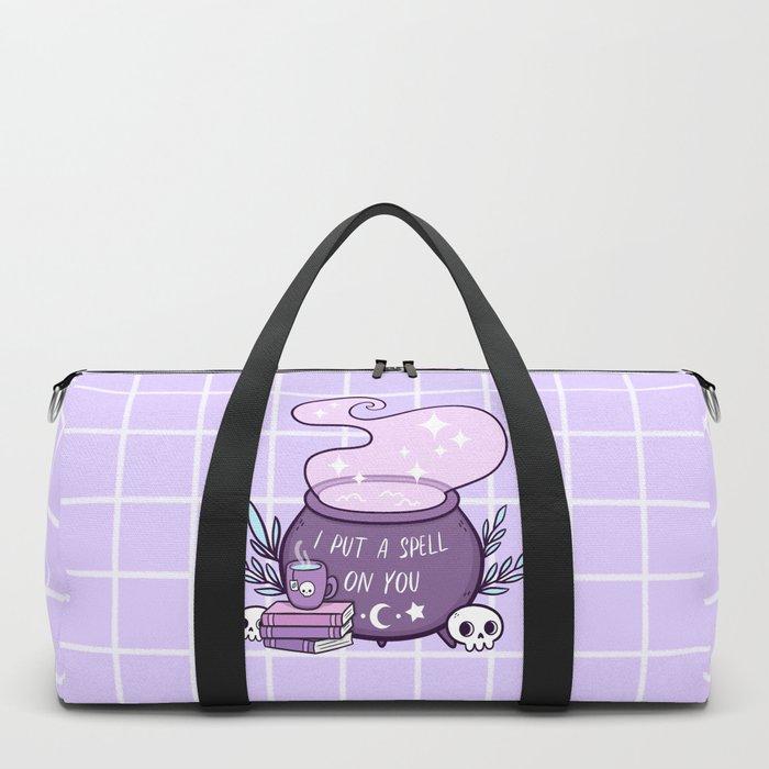 Witch Cauldron // Purple Duffle Bag