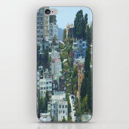 Lombard Street, San Francisco iPhone Skin