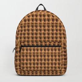 Loads of eyes pattern Backpack