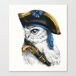 Captain Hoo Canvas Print