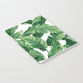 Tropical banana leaves IV Notebook