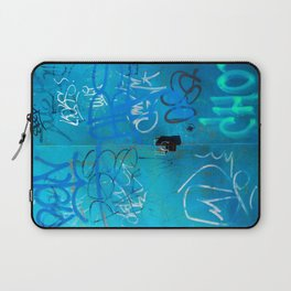 Urban Blue Style Street Graffiti Laptop Sleeve