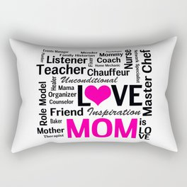 Amazing Do-it-All Mom Rectangular Pillow