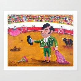 The Last of Manolo that is in Heaven El Ultimo de Manolo que esta en el Cielo Manuel Rocha Kinkin Art Print
