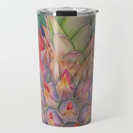 Ornamental Pineapple Travel Mug