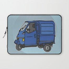 Tricycle Van Threewheeler Transporter Laptop Sleeve