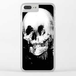 All Is Vanity: Halloween Life, Death, and Existence Clear iPhone Case