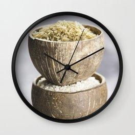 Rice Wall Clock