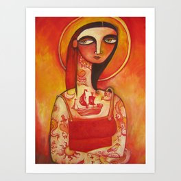Lady Luck Art Print