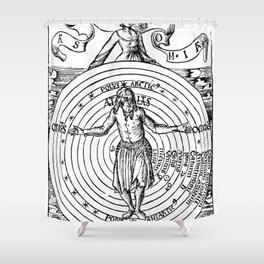 Geocentric Universe 1503 Shower Curtain