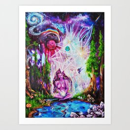 Communing with the Infinite Art Print