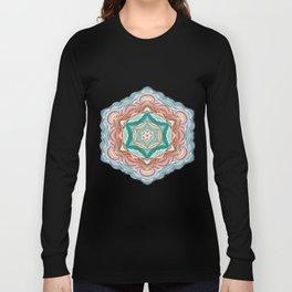 Colorful mandala Long Sleeve T-shirt
