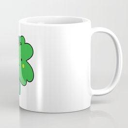 St. Patrick's Four Leaf Clover Coffee Mug