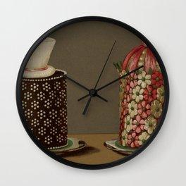 Gouffe Style Cakes - Yummy! Wall Clock